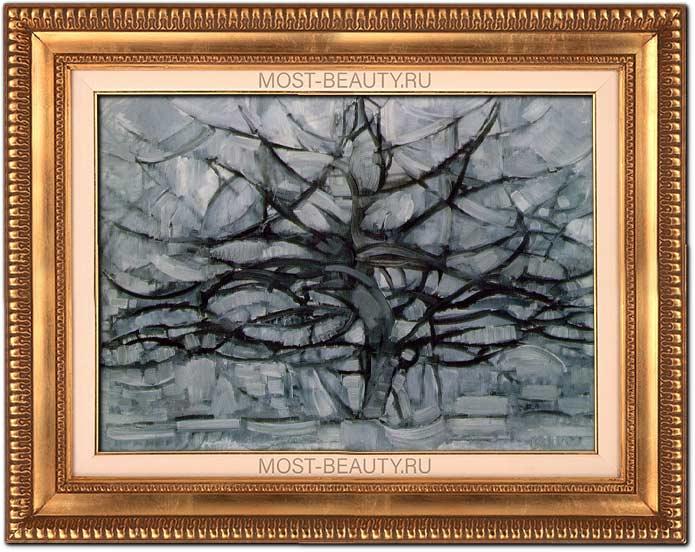 Популярные картины Пита Мондриана: Серое дерево (1911)