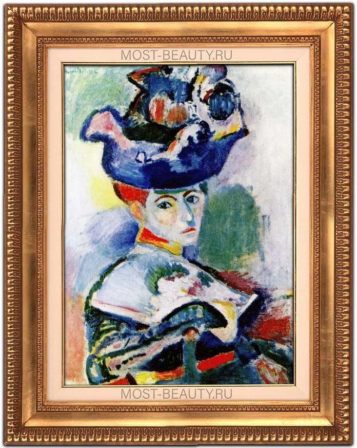 Знаменитые картины Анри Матисса: Женщина в шляпе (1905)