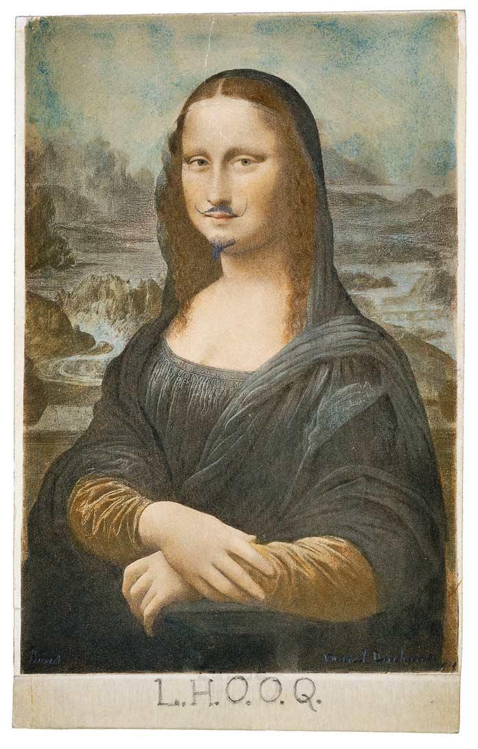 Работы Марселя Дюшана: Мона Лиза (1919)