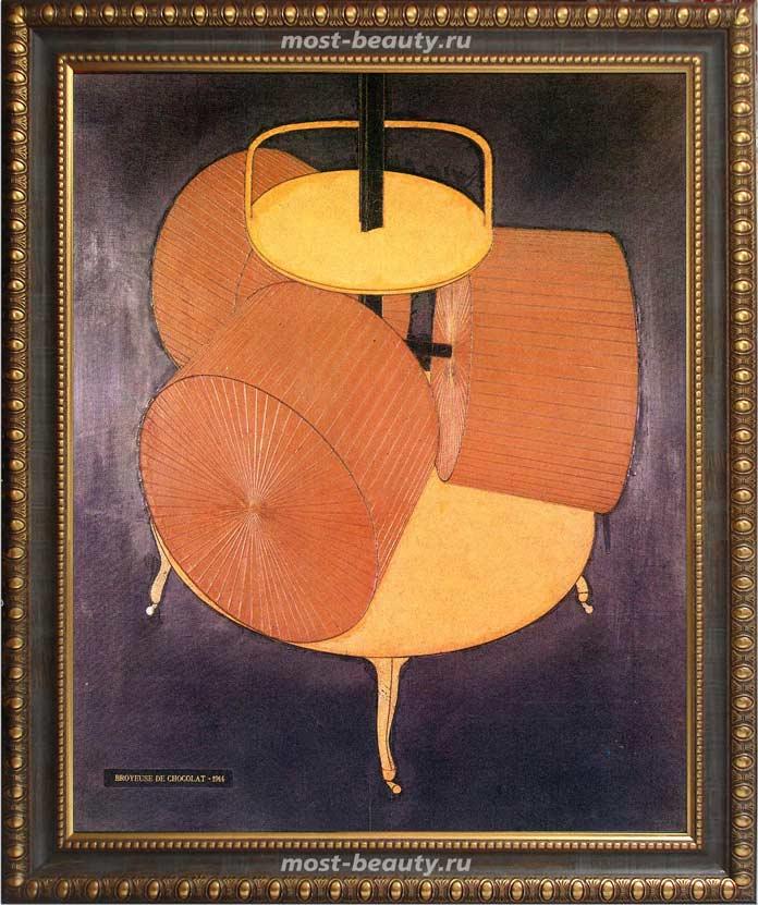 Работы Марселя Дюшана: Мельница для шоколада (1914)