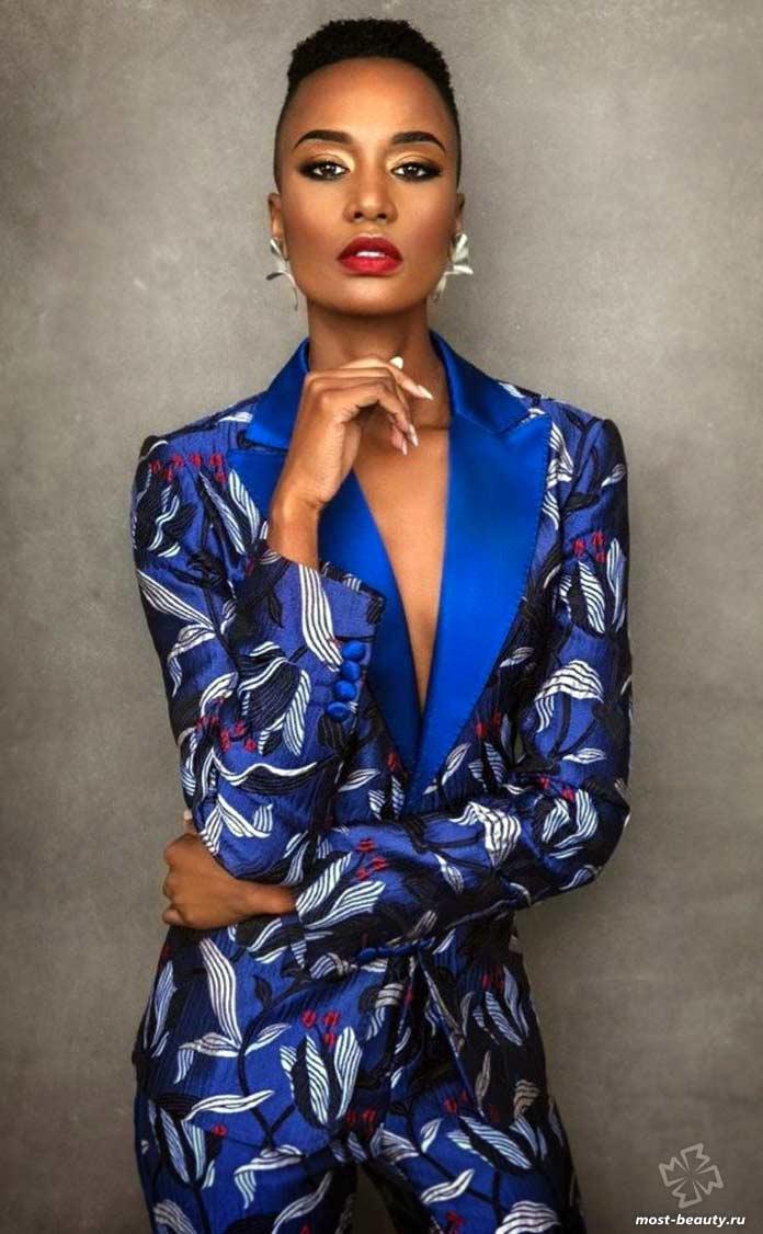 Красивые девушки Южной Африки: Зозини Тунзи