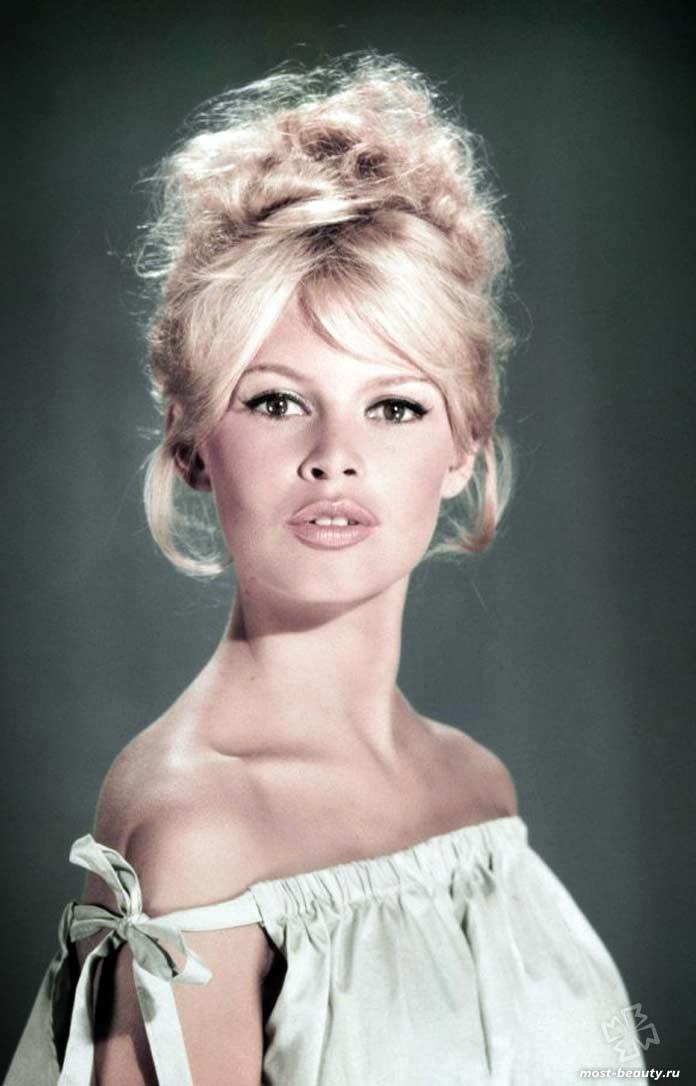 Удивительные Красивые французские актрисы: Брижит Бардо