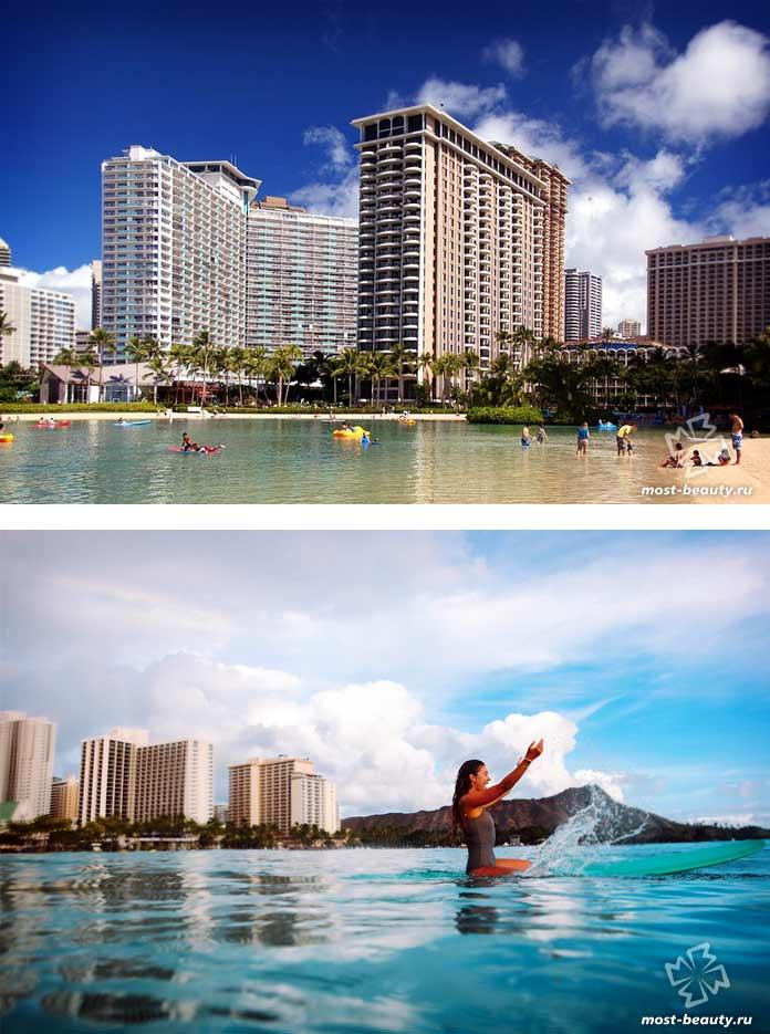 Гонолулу - один из городов США с самыми красивыми девушками. Гавайи