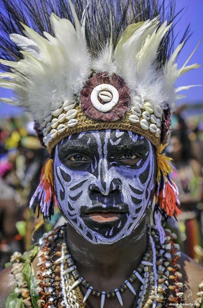 Племена Новой Гвинеи. CC0