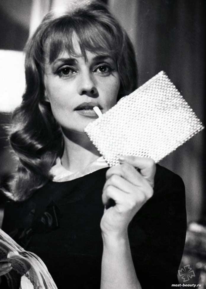 Красивые французские актрисы: Жанна Моро
