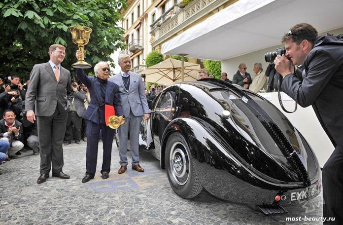 Дорогие автомобили Ральфа Лорена: Bugatti 57SC Atalante Coupe