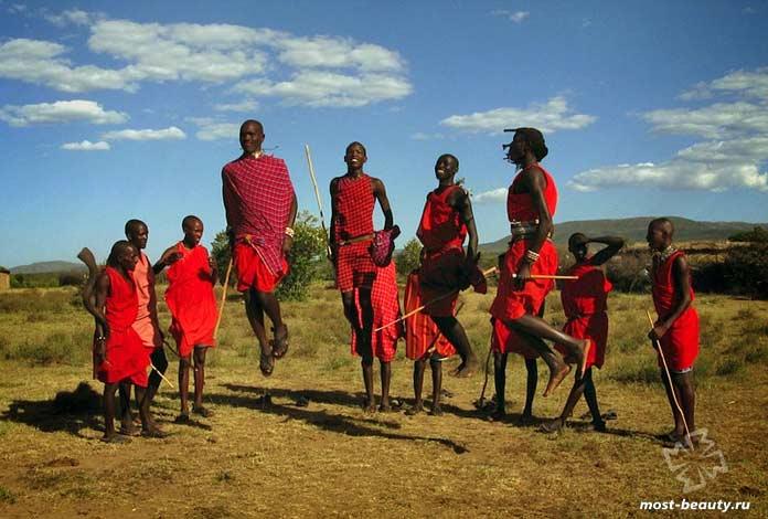 Современные кочевые народы: Масаи. CC0