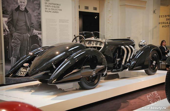 Дорогие автомобили Ральфа Лорена: Mercedes-Benz SSK Count Trossi