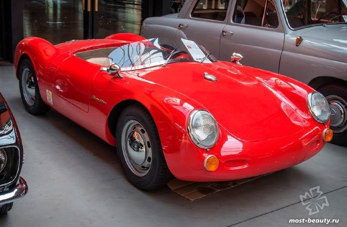 Дорогие автомобили Ральфа Лорена: Porsche P 550 Spyder. CC0