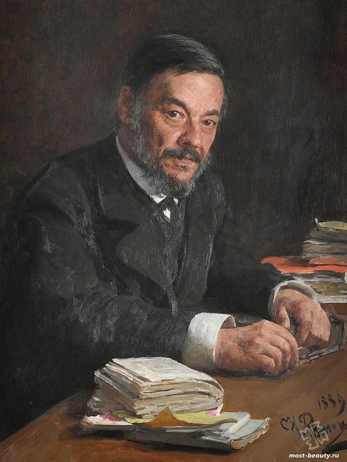 Портрет Ивана Михайловича Сеченова. CC0
