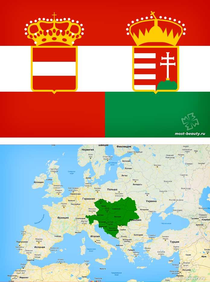 Австро-Венгрия - одна из стран которых больше не существует. CC0