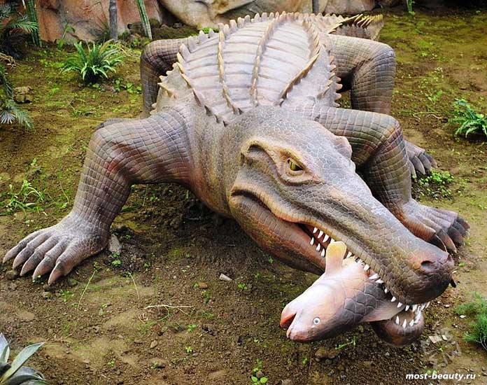Доисторические животные: Саркозух