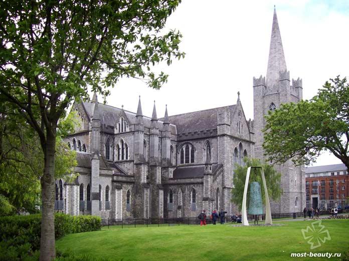 Красивые места Ирландии: Собор Св. Патрика. CC0