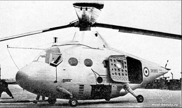 экспериментальные вертолеты Percival p-74. CC0