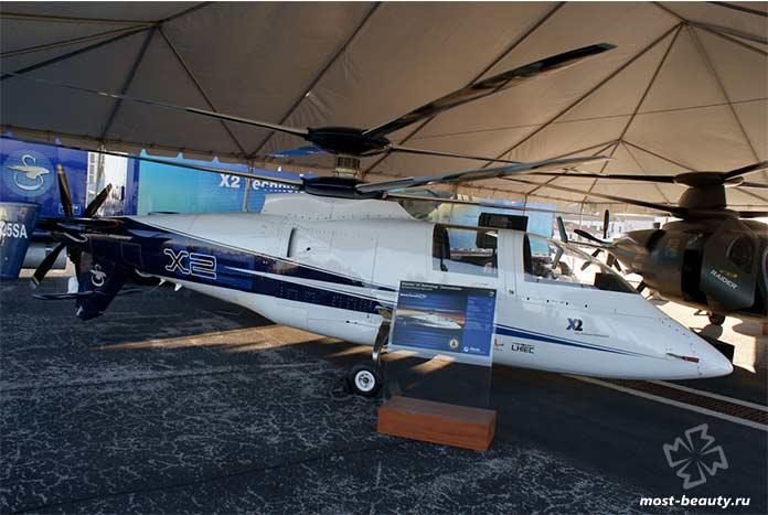 Вертолет Sikorsky X2