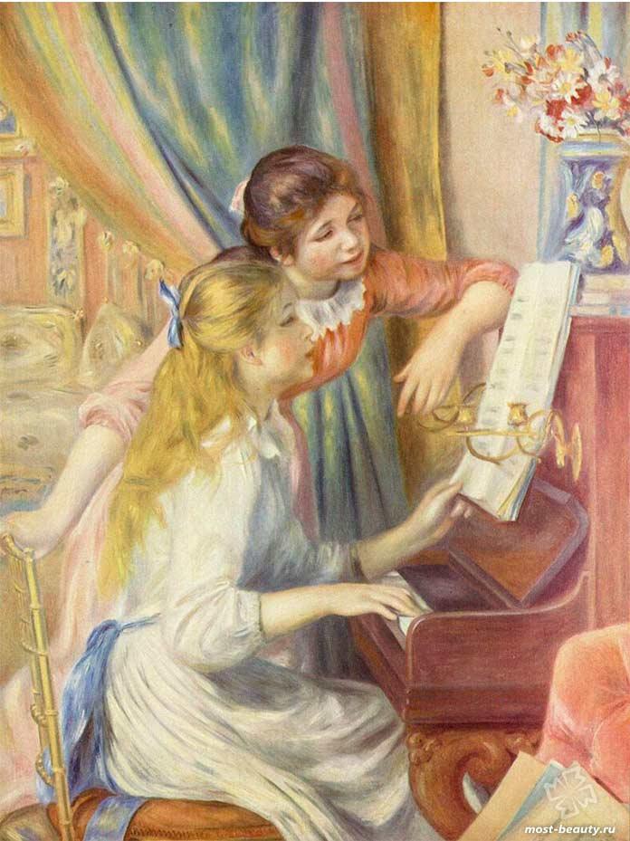 картины Ренуара: Самые известные картины Ренуара.cc0