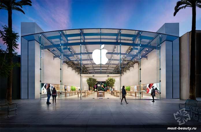 красивые магазины Apple: Калифорния