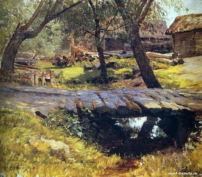 «Мостик. Саввинская слобода», 1884