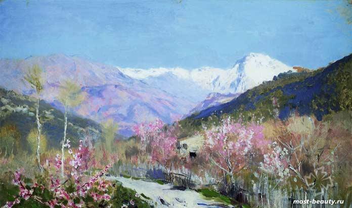«Весна в Италии», 1890