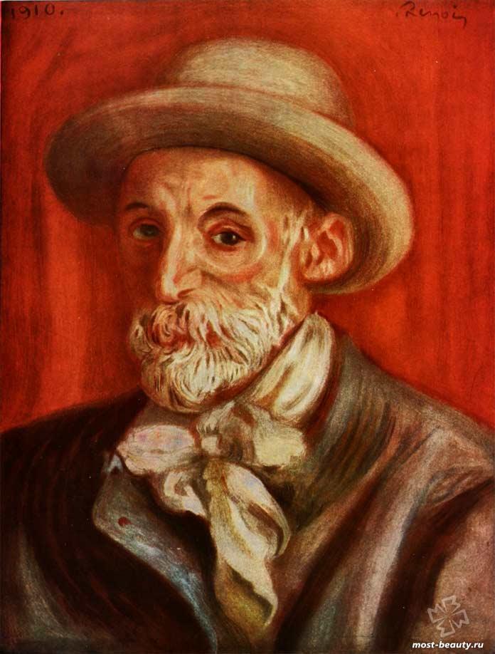 картины Ренуара: Автопортрет. 1910
