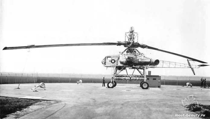 экспериментальные вертолёты: ellett-Hughes XH-17. CC0