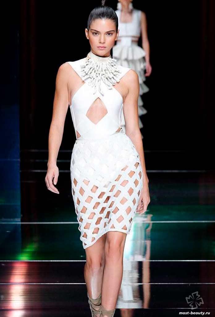 Kendall Nicole Jenner на подиуме
