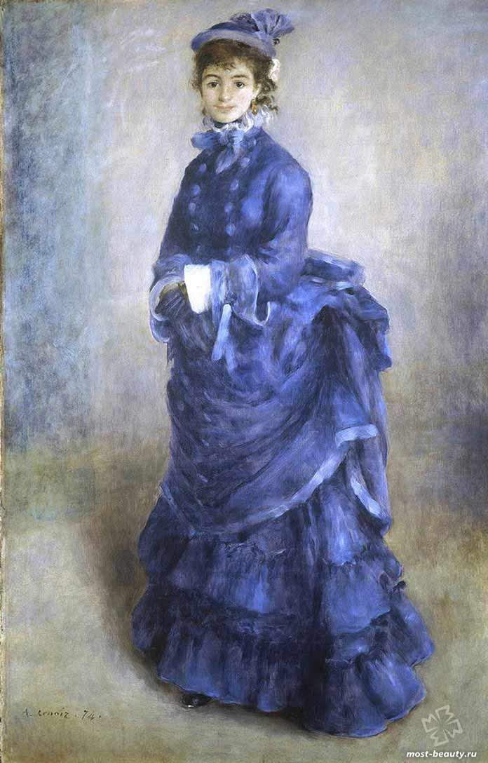 картины Ренуара: La Parisienne