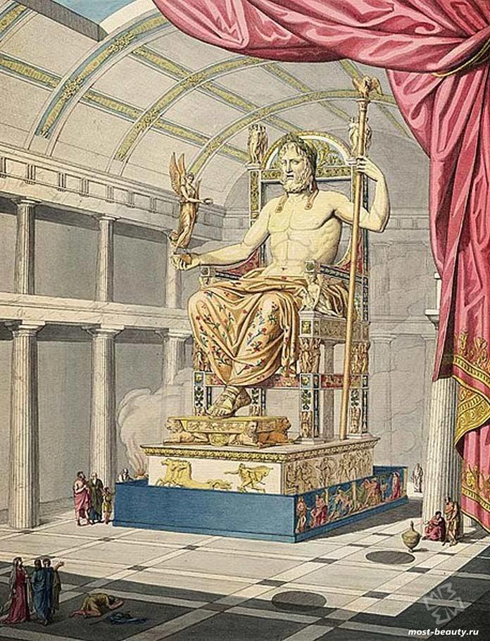 Исчезнувшие туристические направления: Статуя Зевса в Олимпии. CC0