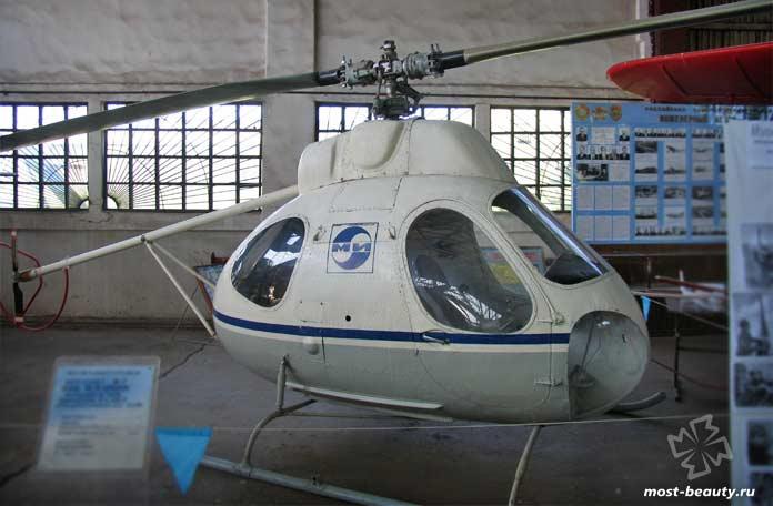 экспериментальные вертолёты: вертолёт В-7