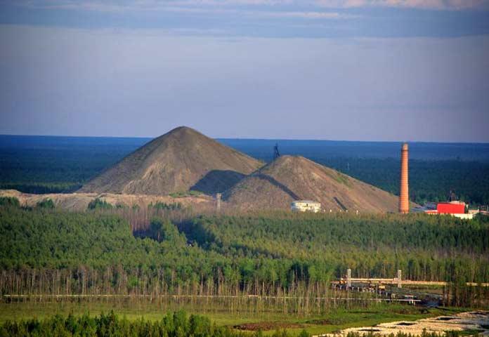 Нефтяные шахты Ярега