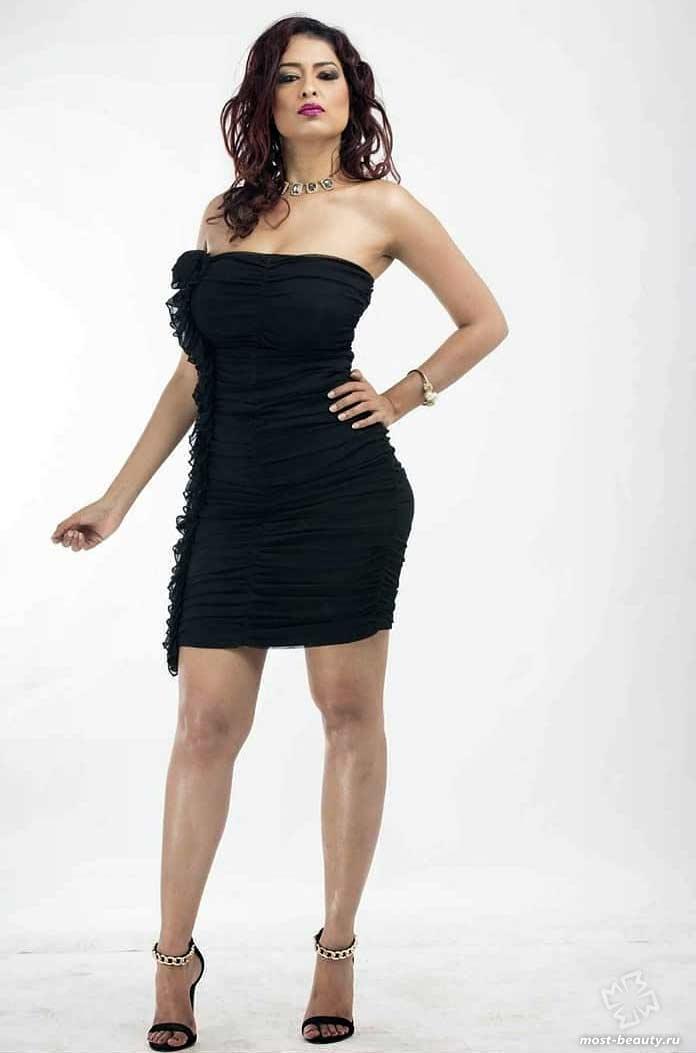 Eve D'Souza краса Кении