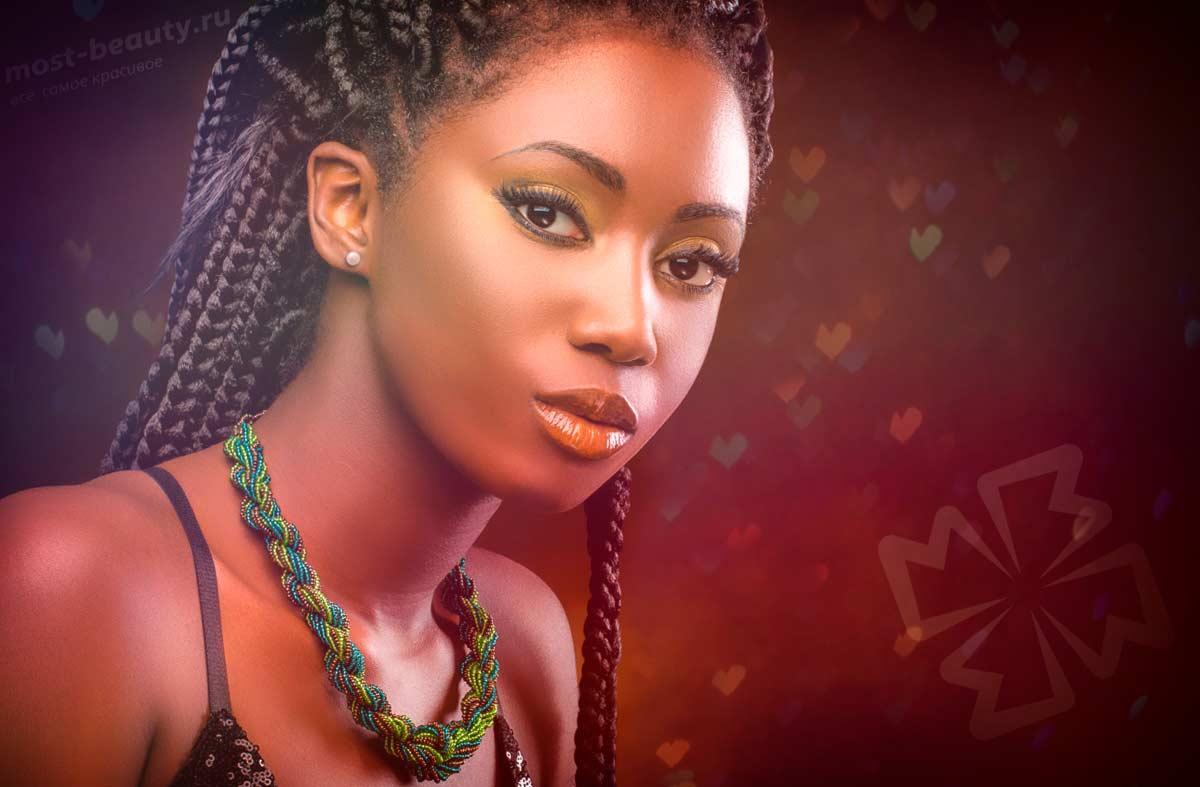 Красивая кенийская девушка