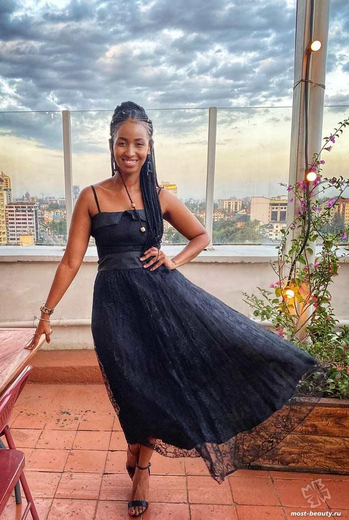 Sarah Hassan - Прекрасный цветок Кении