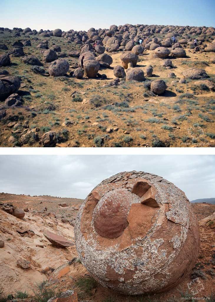 Долина каменных шаров Торыш