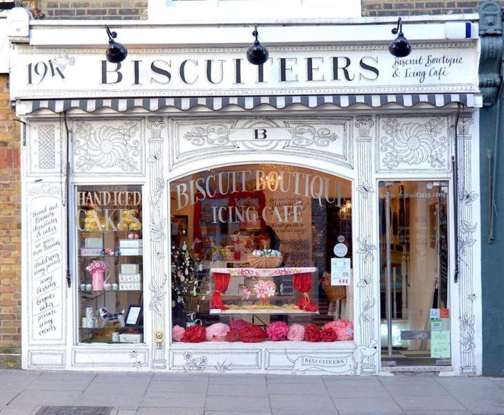 Кондитерская-кафе Biscuiteers Boutique and Icing Cafe