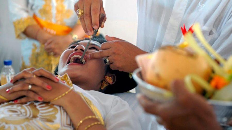 Индонезия спиливание зубов