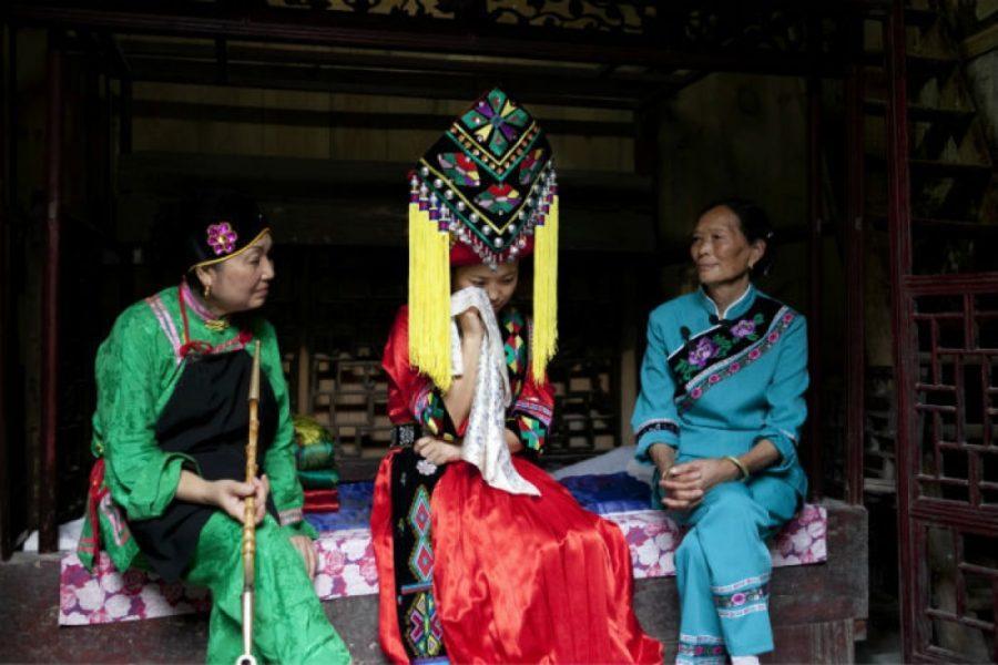 Китай слезы перед бракосочетанием