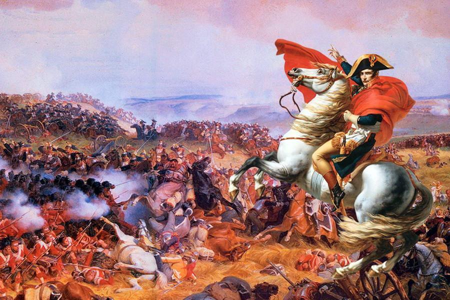 Наполеон вступал в битву с кроликами