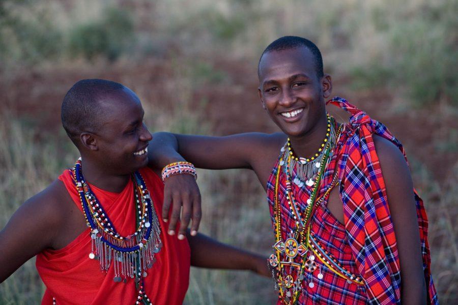 Восточная Африка: приветственный плевок