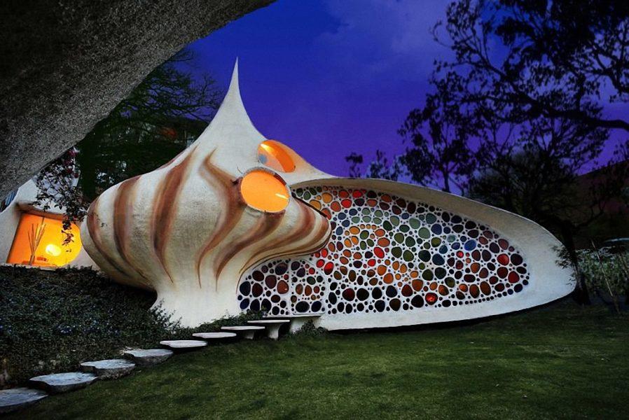 Дом-раковина (Мексика)