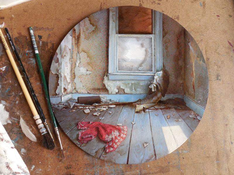 Миниатюрные картины Дины Бродски