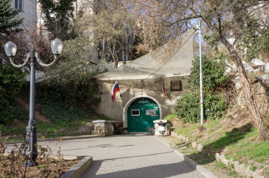 Севастопольское бомбоубежище под Центральным холмом