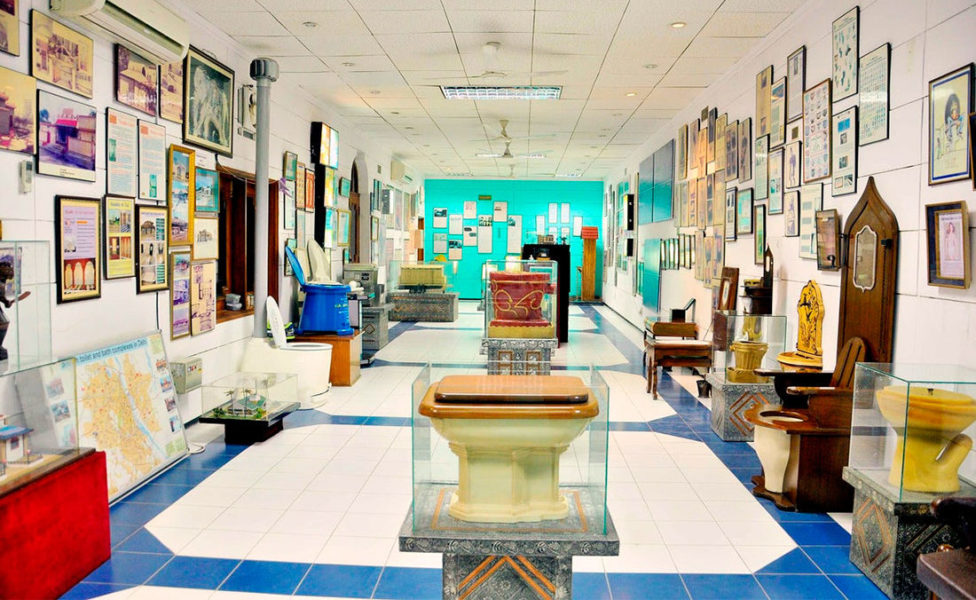 Музей туалетов (Индия, Дели)
