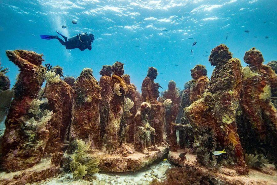 Подводный музей (Мексика, Канкун)