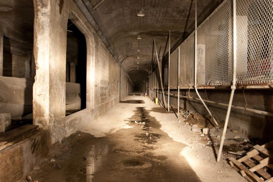 Заброшенная станция метро в Цинциннати
